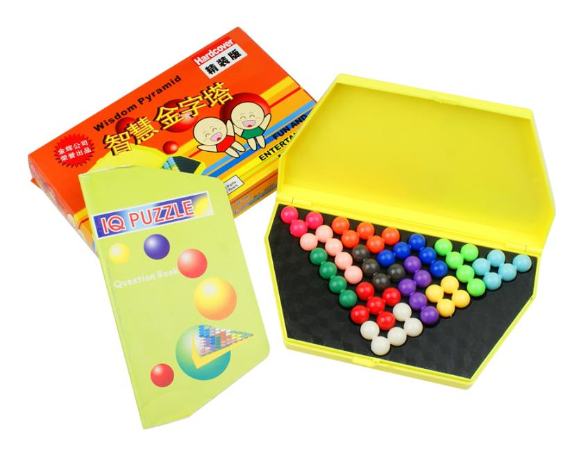 Classic IQ 2D 3D Puzzle Mind Logic Brain Teaser Puzzles Game for Children Adults