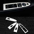 2016 Car Styling Stainless Steel 4pcs/set Interior Door Window Lift Switch Panel Cover For Kia SportageR 2011-2016 Accessories