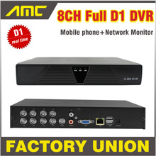 New CCTV DVR 8 Channel Full D1 Real Time Recording Support Network Mobile Phone CCTV Dvr Recorder 8ch H.264 DVR Security System