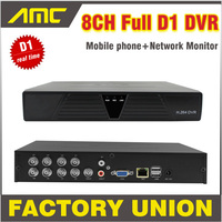 2014 New DVR 8 Channel H 264 Full D1 8ch Real Time Recording Support Network Mobile