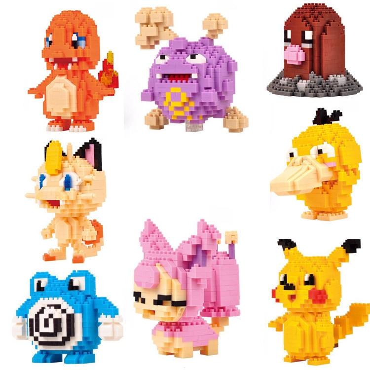 LNO ABS Diamond Creative Building Blocks Toys Mini Blocks Bricks Intelligent Toys Gifts Boys Girls