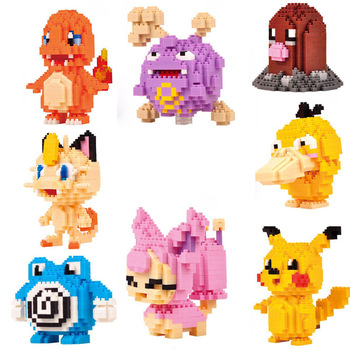 LNO mini building blocks duplo toys mini  bricks puzzle intelligent toys gifts boys girls