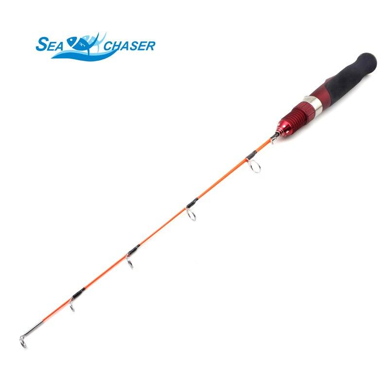Visoka kvaliteta crvena MINI led ribolov štap ugljika štap 47cm - Ribarstvo - Foto 1