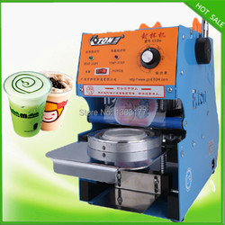 2019 new model Guaranteed 220V Plastic Cup Sealing Machine standard cup dia:7.5cm,9.5cm, 300~500 cups/hour
