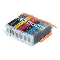 Full ink 6PCS PGI-450 CLI-451 ink Cartridge For Canon PIXMA IP7240 MG5440 MG5540 MG6440 MG6640 MG5640 MX924 with Chip