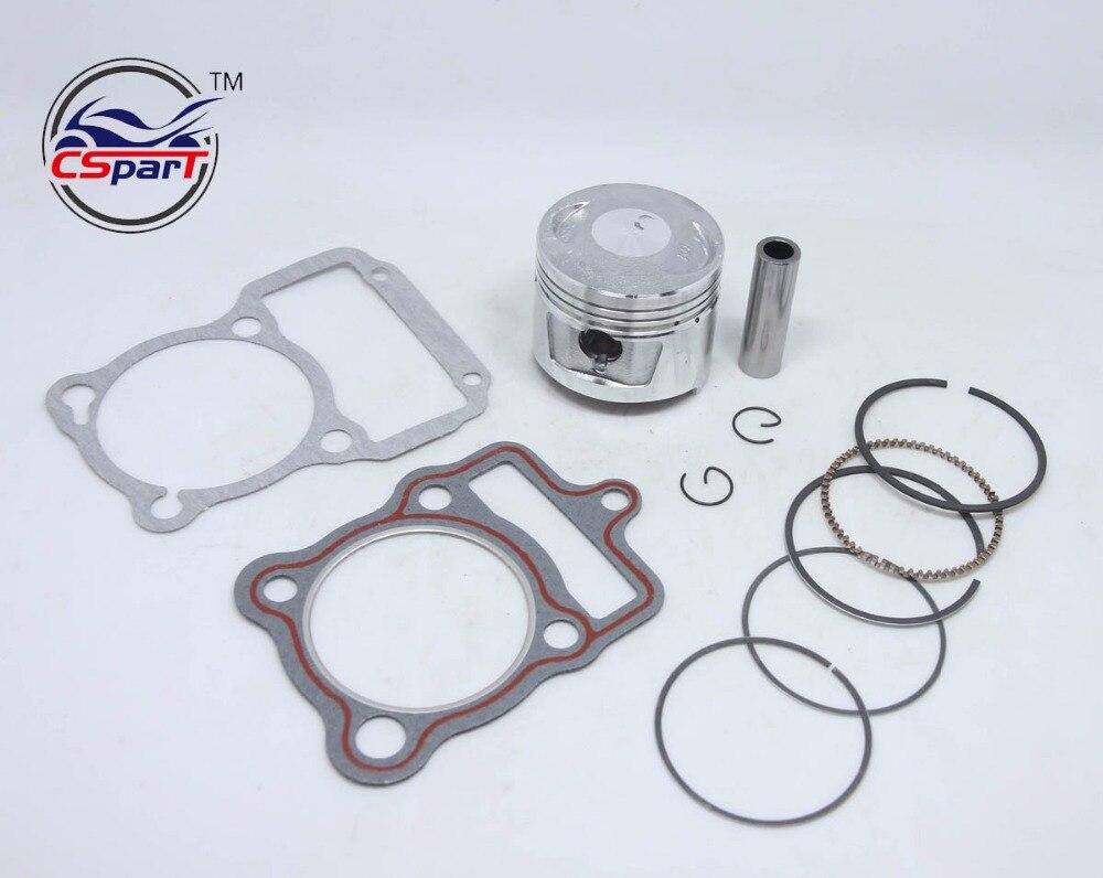PitBike Lifan 56.5mm 150cc PISTON RING CG 125cc Fits XL125 JX125 Baja 125cc