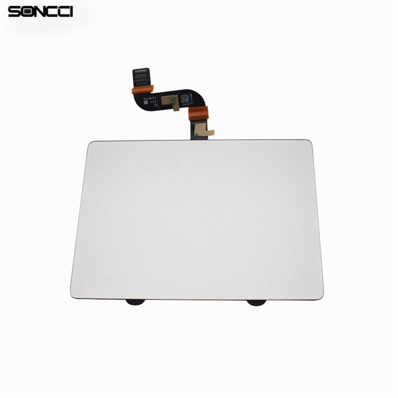Soncci Sliver A1398 2013 2014 Trackpad Touchpad Touch Panel For MacBook Pro Retina 15 A1398 2013 2014 Laptop Touchpad new silver for macbook pro retina 15 4 a1707 force touch pad touchpad trackpad