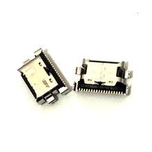 10 stks/partij Charger Micro Usb poort Opladen Dock Connector Socket Voor Samsung Galaxy A70 A60 A50 A40 A30 A20 A405 a305 A505 A705