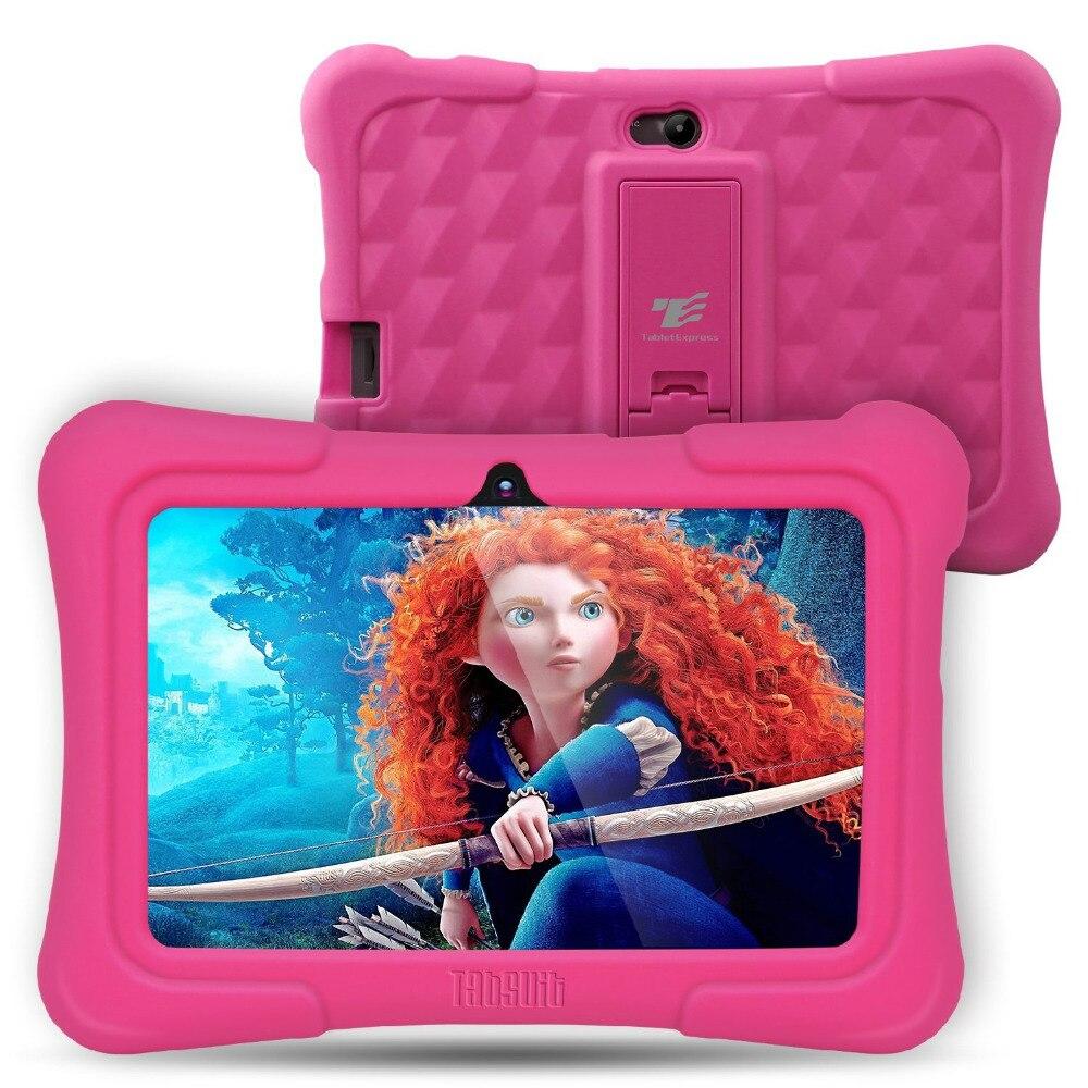 Dragontouch y88x más 7 pulgadas niños Tablets PC Quad Core Android 5.1 1 GB/8 GB kidoz de instalado mejores regalos para los niños