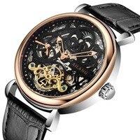 Ailang esqueleto tourbillon assista topo de luxo marca relógio masculino negócios relógio de pulso presente dos homens tourbillon automático relógio mecânico|watch brand|watch brand men|watch business -