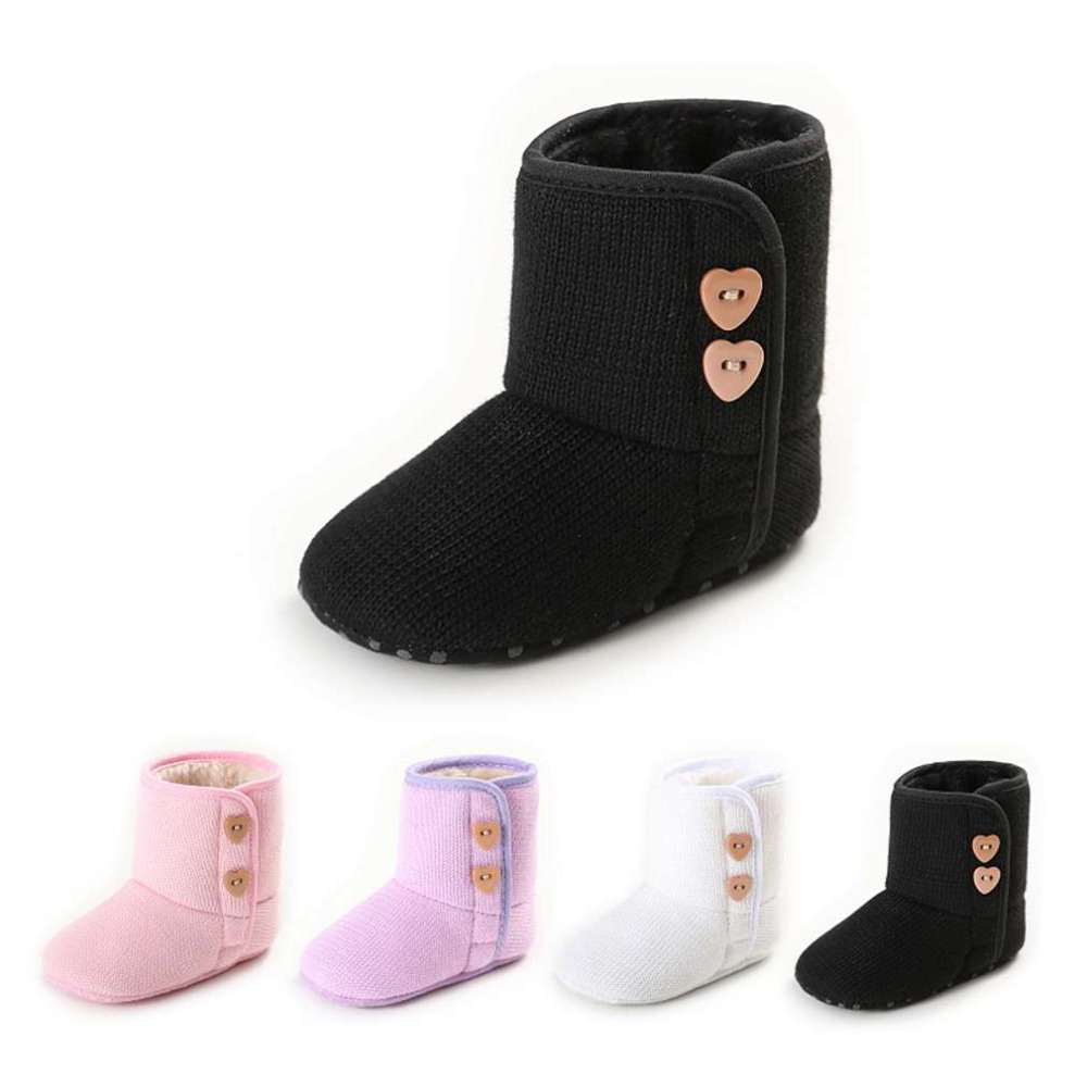100% Brand New Breathable Autumn Winter Fashionable Design Snow Boot Knitted Cotton Soft Sole Shoes Keep Warm In Winter
