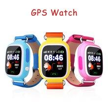 Smartwatch Baby Q90 Uhr Touchscreen WIFI Positionierung GPS Uhr für Kinder Sos-ruf Locator Finder Tracker Sicher Anti Verloren