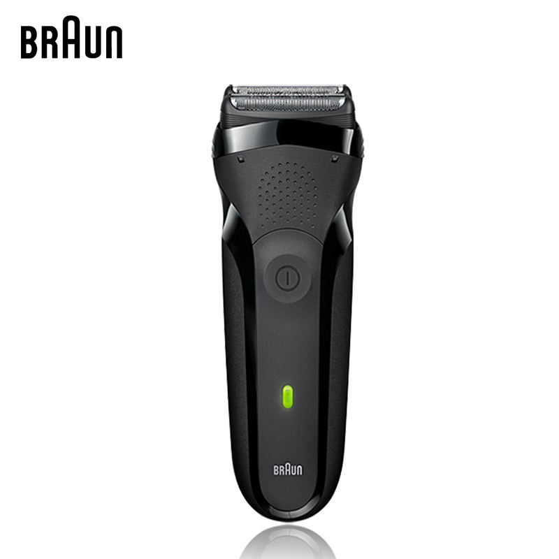 Braun Men Electric Shavers Series 3 301s Rechargeable Foil Beard Shaver Safety Razor Whole Body Washing Shaving Machine 100-240v philips electric shaver s106 rechargeable with comfortable shaving system with double heads of the whole body washing for men