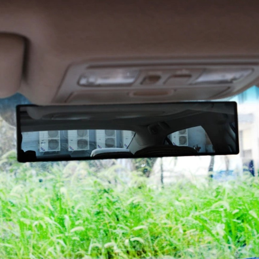 автомобильное зеркало заднего вида широкий угол