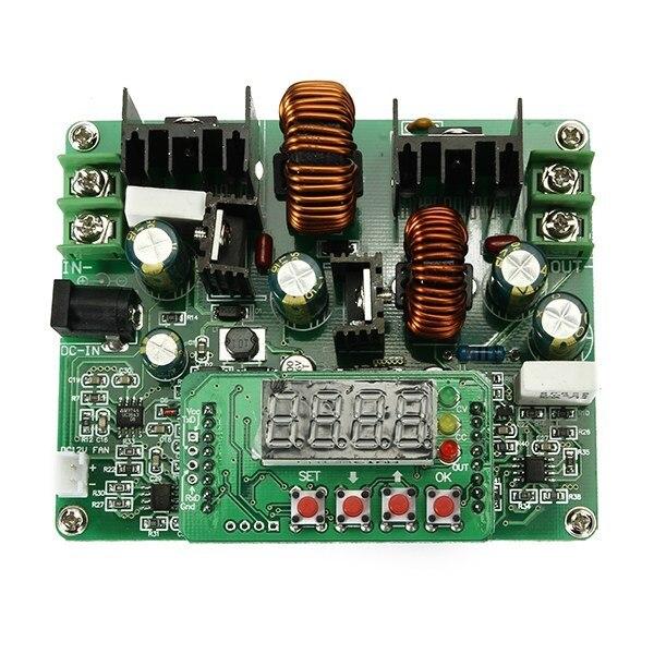 1 pc 새로운 d3806 nc dc 정전류 전원 공급 장치 스텝 다운 모듈 전압 전류계 전자 부품 및 소모품