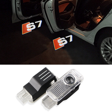 2X LED LASER PROJECTOR DOOR GHOST LOGO Light FOR AUDI S Line A4 A3 A6 C5 Q7 Q5 A1 A5 80 TT A8 Q3 A7 R8 RS B6 B7 B8 S3 S4