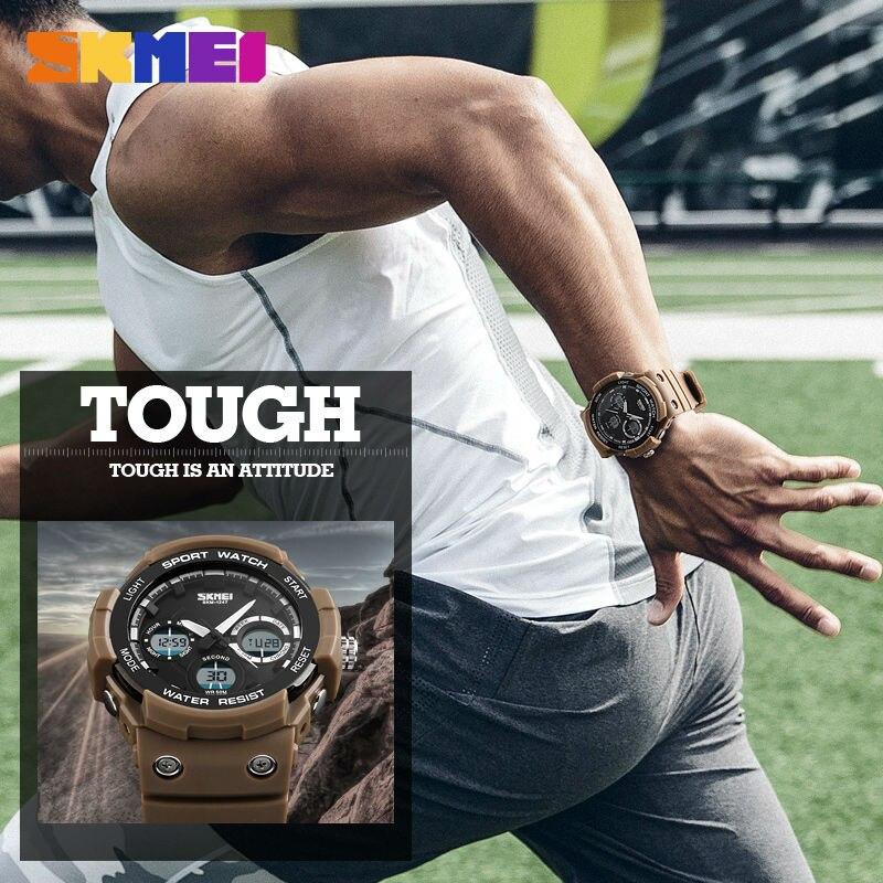 Sport Relogio Digital Quartz Watch Men Watches Waterproof Fashion Watch Wrist Chronograph Alarm Clock Military Army Wristwatch цена и фото