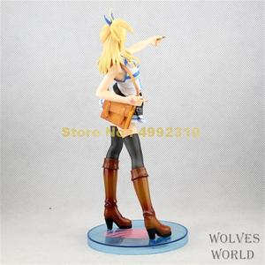 Image 5 - 21Cm Anime Fairy Tail Lucy Heartphilia Pvc Action Figure Collection Model Toy