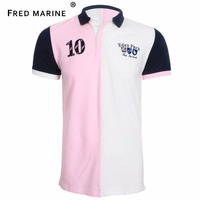 Eden Park High Quality New Patchwork Style Summer Collection Mens Polo Shirts Superior Matetia Horse France