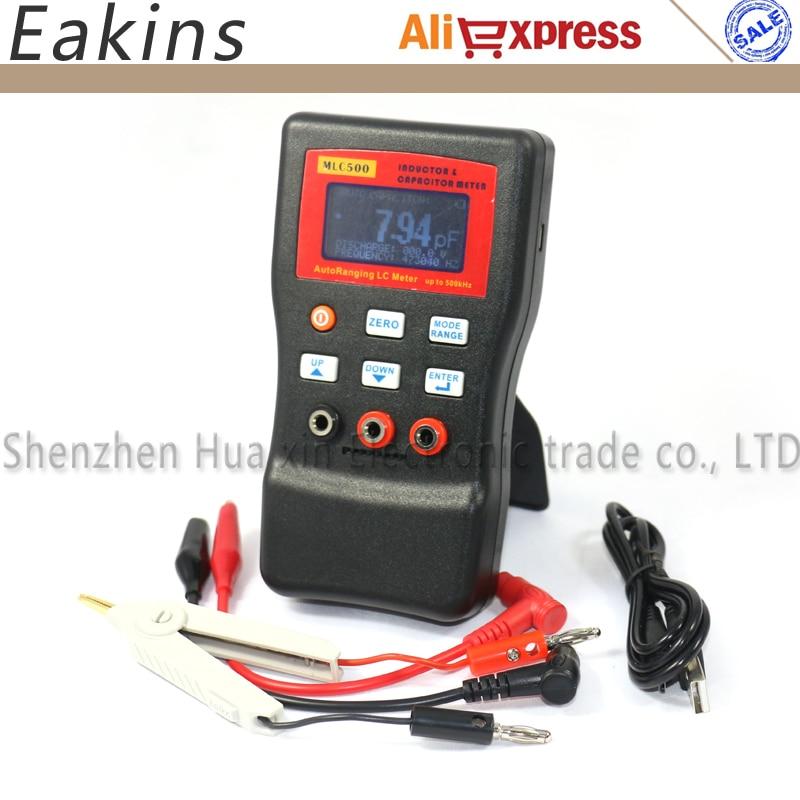 MLC500 LR mesure automatique de la capacité et de l'inductance de la gamme, mesure d'oscillation LC/RC pour les tests de composants - 2