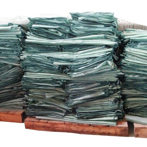 Flores de estufa quarto conjuntos de pano de PVC PE conjuntos de pano de pano de malha verde caixas de PVC e PE