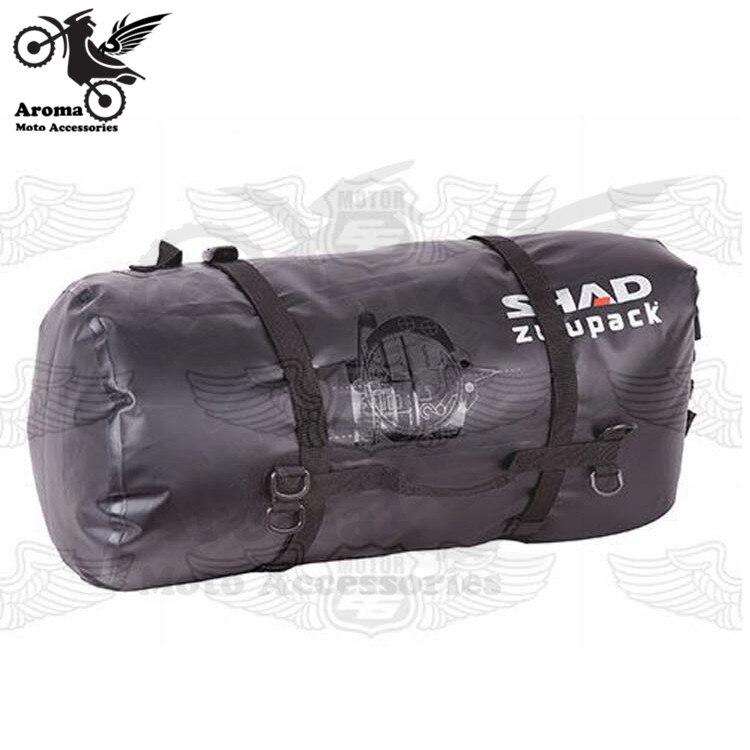 Peças da bicicleta pit motocross moto preta à prova d' água bagagem bolsa sacos de ferramenta alforje moto universal traseiro saco de cauda da motocicleta