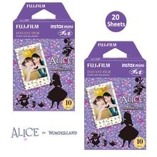 Fujifilm Instax Miniฟิล์ม20พิมพ์ (2แพ็ค) alice In Wonderland InstanPictureสำหรับMini 11 8 90 25 70กล้องSP 2