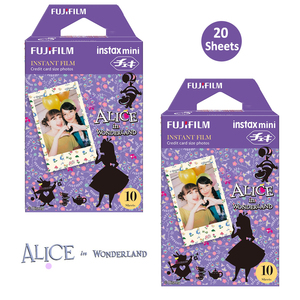 Image 1 - Fujifilm Instax Mini Color Film 20 Prints (2 Packs) Alice in Wonderland  InstanPicture For Mini 11 8 90 25 70 Photo Camera SP 2