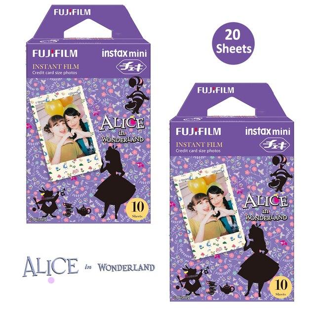 Fujifilm Instax Mini Color Film 20 Prints (2 Packs) Alice in Wonderland  InstanPicture For Mini 11 8 90 25 70 Photo Camera SP 2
