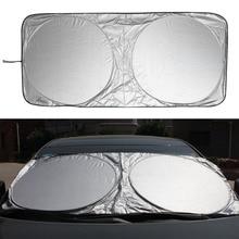 Ochrona UV przednia szyba samochodu pokrywa 150X70cm przednia szyba tylna Film osłona przeciwwiatrowa na przednią szybę osłona przeciwsłoneczna do samochodu samochód stylizacji wysokiej jakości