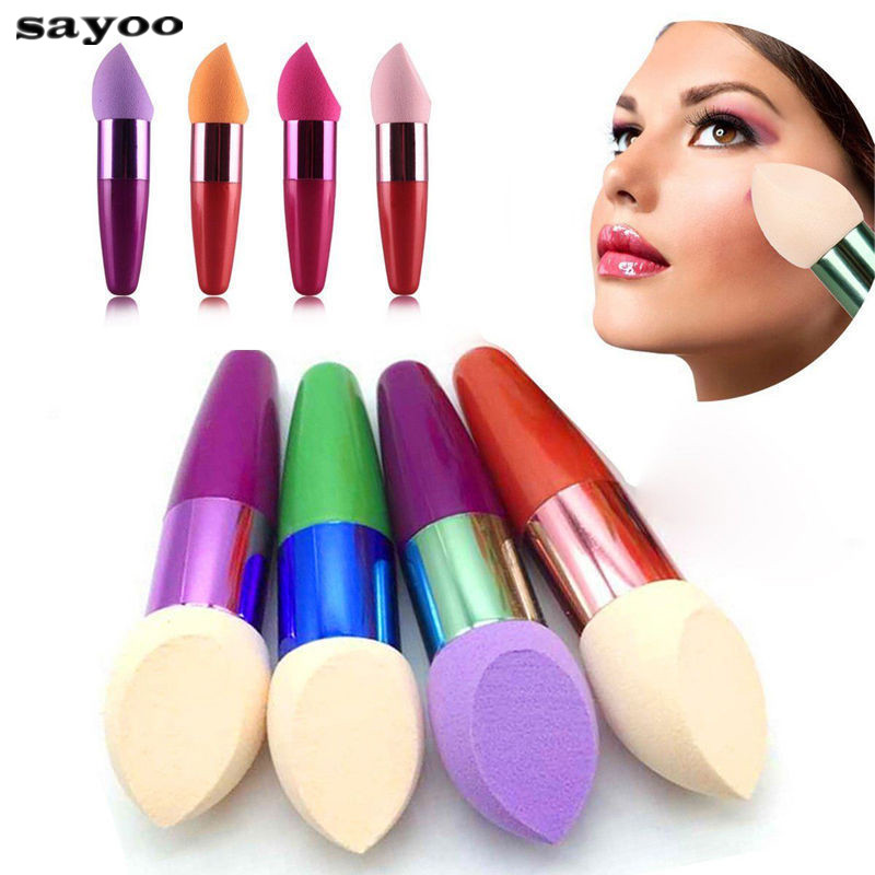 Soft Makeup Brush Facial Sponge Blender Foundation Concealer Eye Shadow Egg Puff Flawless Powder Smooth Cosmetic Beauty Tool makeup sponge blender blending puff flawless powder foundation make up sponge cosmetics maquiagem pinceaux de maquillage