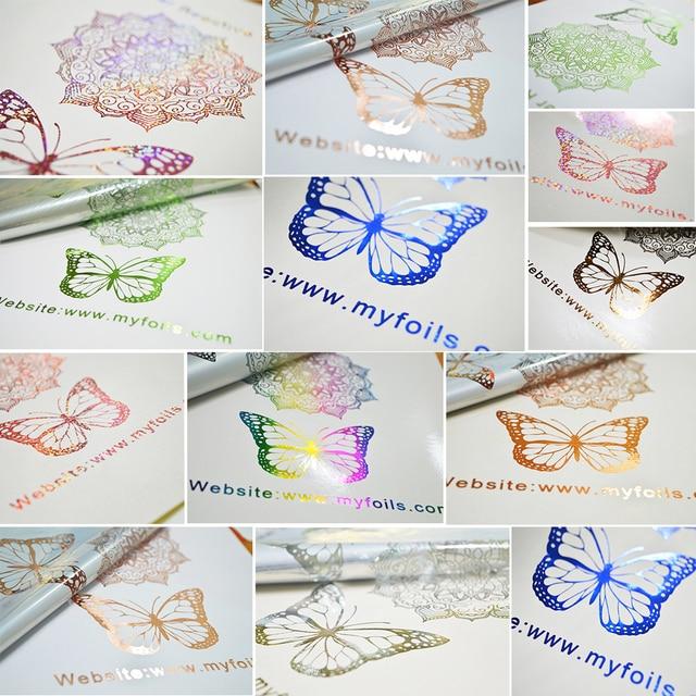 Myfoels-feuille décorative A4 rose | 50 feuilles, feuille destampage à chaud, pour étiquette/cartes dinvitation de mariage/cartes de travail