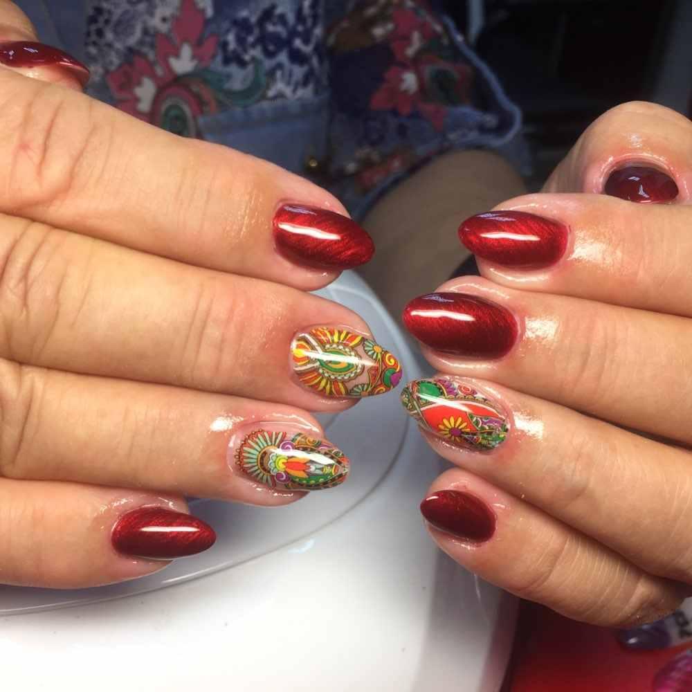 Mshare Nagel Folie Zelfklevend Lijm Gel Set Met Transfer Folie Bloem Retro Sticker Diy Nail Art Accessoire Nagels Tips