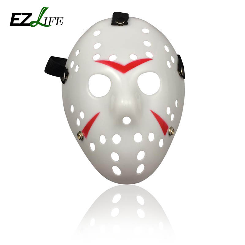 New 2017 Halloween Mask Jason Voorhees Friday The 13th Horror Movie Hockey Mask Hallowee ...