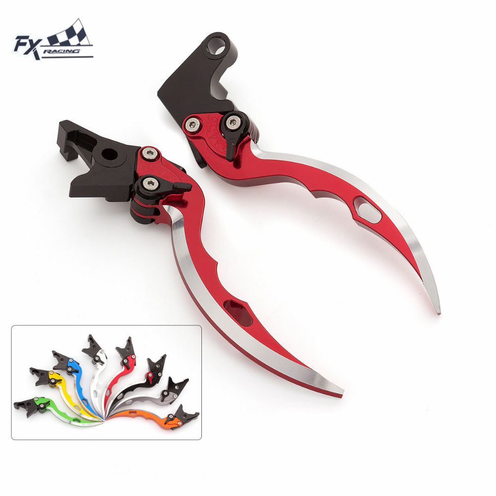 CNC Knife Blade Motorcycle Brake Clutch Levers Adjustable Aluminum Pair For <font><b>Yamaha</b></font> TMAX500 <font><b>Tmax</b></font> <font><b>500</b></font> <font><b>2001</b></font> - <font><b>2007</b></font> 2002 2003 2004 image