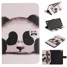 цена на XIN-MUM For Samsung Galaxy Tab 3 8.0 SM-T310 SM-T311 Case Fashion Flower Panda Owl PU Leather Flip Wallet Tablet Back Cover Capa