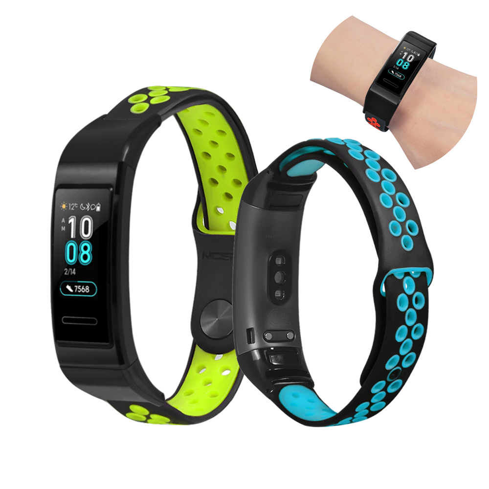 Silicone Wrist Strap For Huawei Band 3 Pro Smart Watch Band Sports Rubber Bracelet For Huawei 3 Band Pro Accessories Wristbands