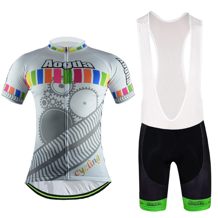 2017 Hot Cycling Jersey Ropa Ciclismo Breathble Short Sleeve Cycling Clothing Quick Dry Bicycle Sportswear Cycling Equipment