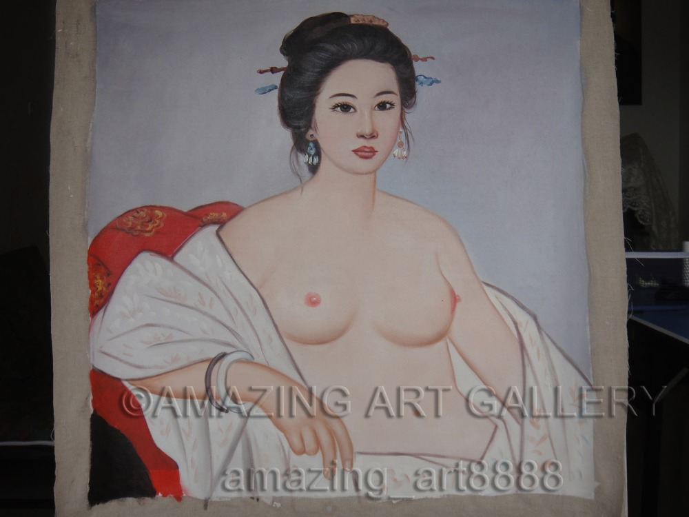Nude Naked Chinese Princess Virgin Girl With Sexy Breast -6649