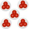 Беспроводной Призвание Колокол Пейджер Кнопку Вызова Передатчик Вызова для Ресторан Пейджер 433 МГц F4413B