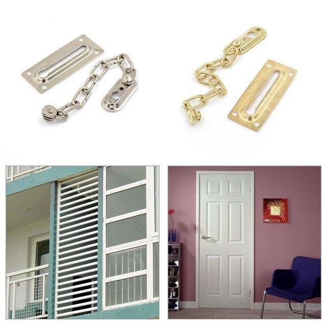 Urijk New Hotel Security Chain Door Lock Safety Sliding Door Bolt
