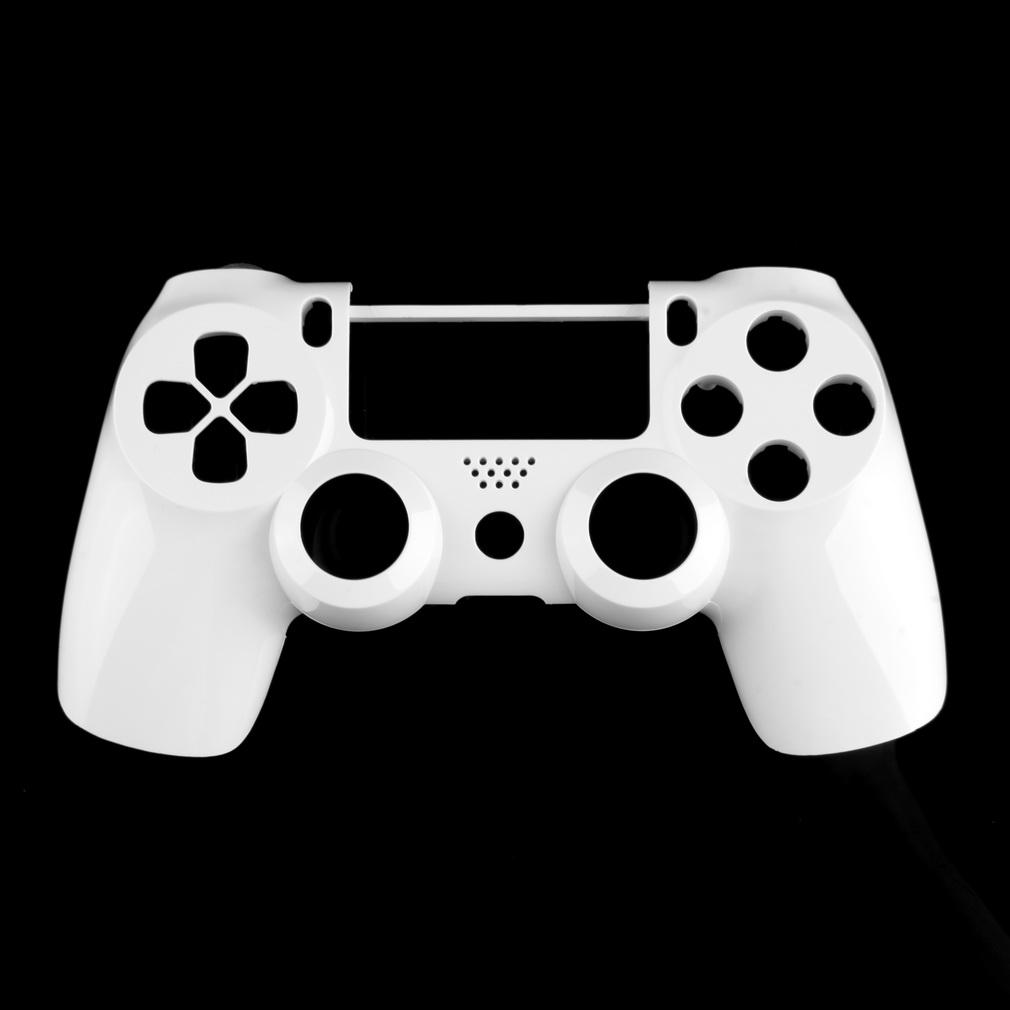 Hot 3pcs White Front Housing Shell Case Cover Replacement For Sony PlayStation 4 PS4 Wireless Controller