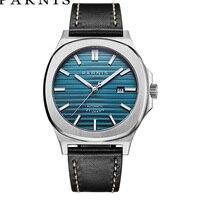 Parnis механические часы с автоматическим подзаводом мужские наручные часы лучший бренд класса люкс Diver сапфировое стекло Relogio Masculino 2018