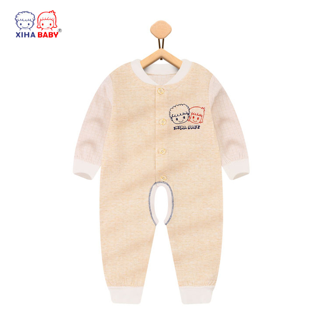 d492da021 2017 Mother Nest New Brand Baby Rompers Long Sleeves Soft 100 ...