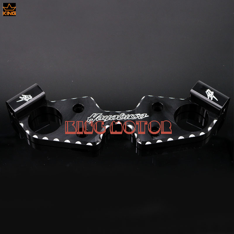 For SUZUKI GSX1300R HAYABUSA 2008-2016 Motorcycle Accessories Lowering Triple Tree Front End Upper Top Clamp Black