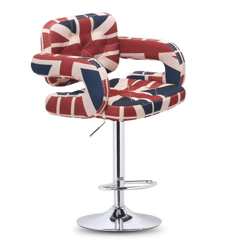 North American Barber Salon Chair retail Beauty massage barber stool free shipping north american fashion bar stool barber stool retail and wholesale yellow red orange white black free shipping