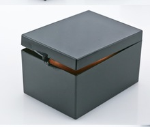 4pcs/lot  9.1*6.7*5.4cmBlack Specimen Box Small Jewelry Storage box bin