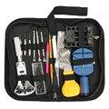 Top Qualidade Menor Preço 144 Pcs Assista Repair Tool Kit Caso Abridor Ligação Remover Primavera Bar & Carrying Case