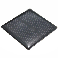 NEW 4V Mini DIY Solar Panel Module For Light Battery Cell Phone Toy Charger Type:4V 0.36W 90Mah 63X63x3mm