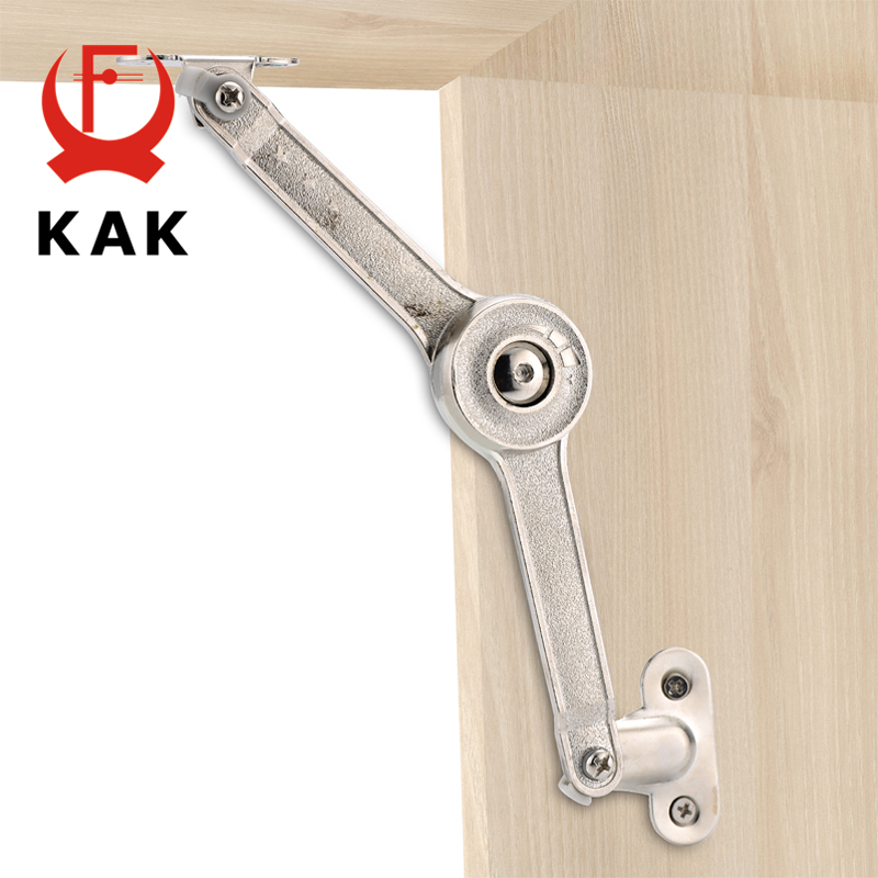 KAK Randomly Stop Adjustable Hinge Cabinet Cupboard Door Furniture Lift Up Strut Lid Flap Stay Support Hydraulic Hinges Hardware mtgather 2pcs stainless steel cabinet cupboard furniture doors close lift up stay support hinge kitchen duarable and safe